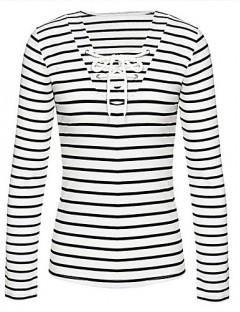 پیراهن یقه باز زنانه سفید