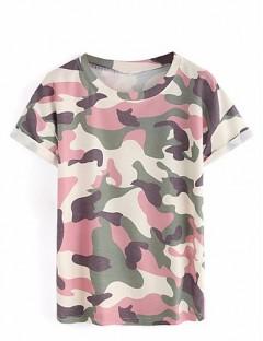 تیشرت زنانه ارتشی